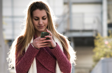Training your phone to recognise you