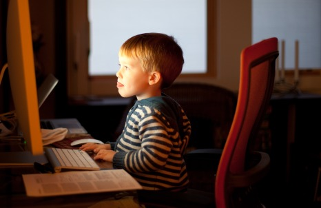 "Is internet really is as ""dangerous as letting children go out into the street?"