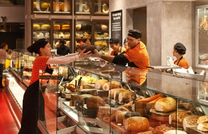 Canadian company Loblaws stores offer specialist foods and many products are made on site