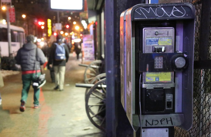 LinkNYC is a project aimed at turning phone booths into media hubs