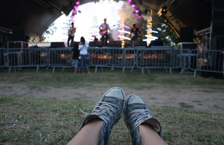 Converse sponsors tons of music gigs. They're a shoe brand, but they're a bit rock 'n' roll