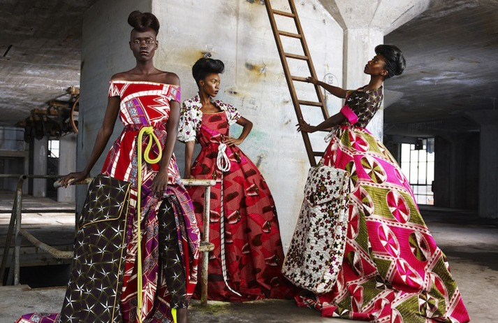 Vlisco creates a dialogue between traditional luxury and visual themes from a vibrant continent