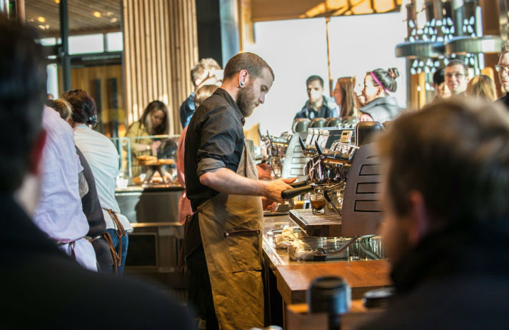 Can rare coffees and theatricals convince customers that Starbucks is 'super premium'?
