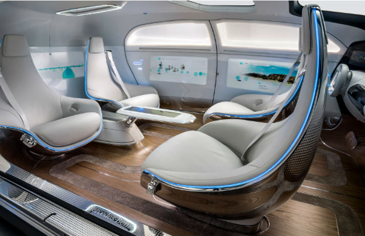 Mercedes imagines the car as a luxury lounge