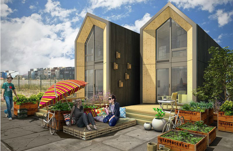 Moveable homes for Dutch Millennials