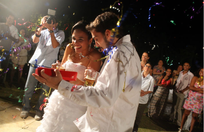 Brazilians' ability to party is sending wedding bills through the roof