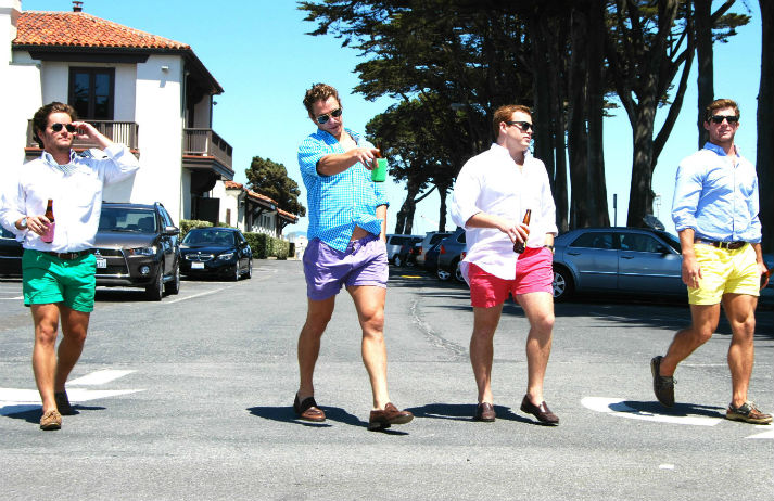 'Bro' culture has a soft spot for short shorts