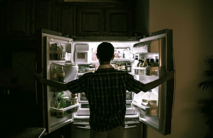 The fridge is always open in America
