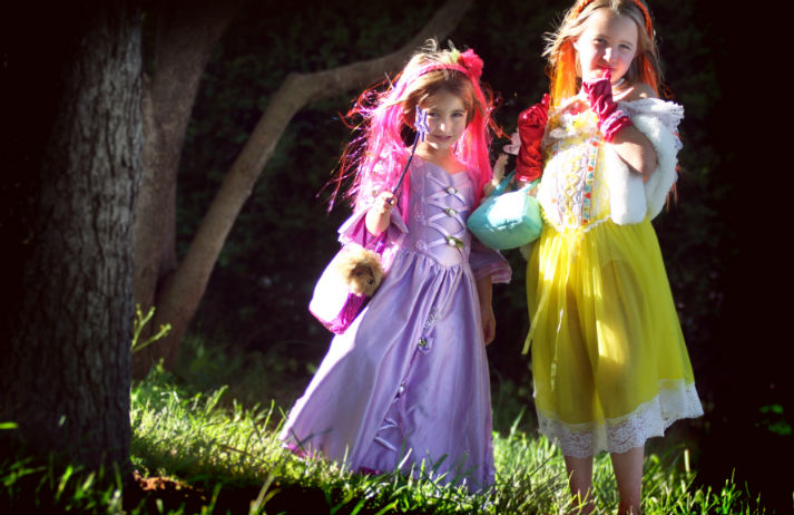 Parents pay for girls to feel like princesses
