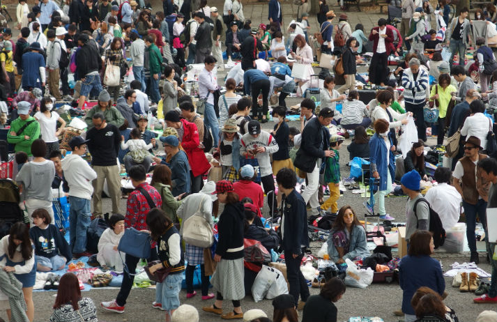 New money in old stuff; Japan gets into second-hand