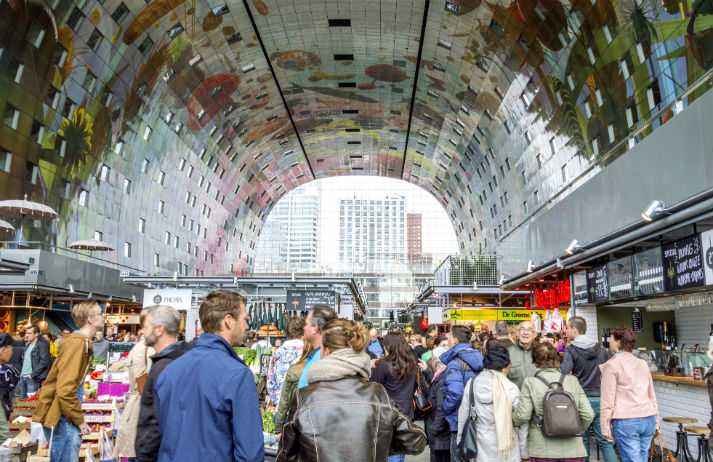 The future of the city market is buzzing