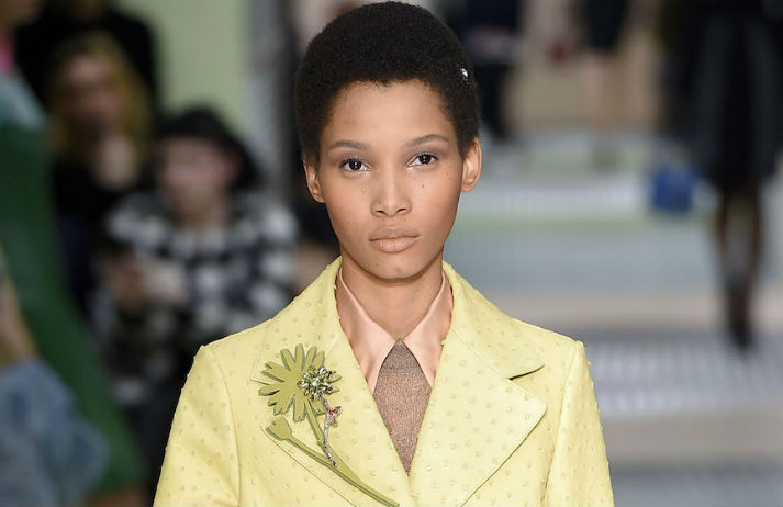 The afro takes centre stage at fashion week