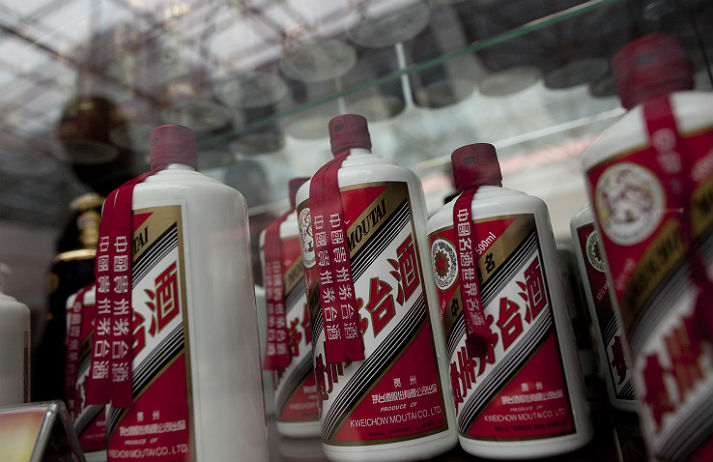Moutai targets middle classes with baijiu