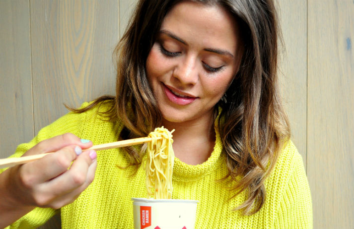 What could be so good about zero-calorie, zero-taste noodles?
