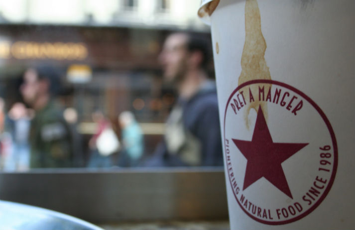 Flirting and freebies at Pret