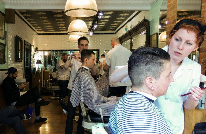 The classic barbershop is alive and well