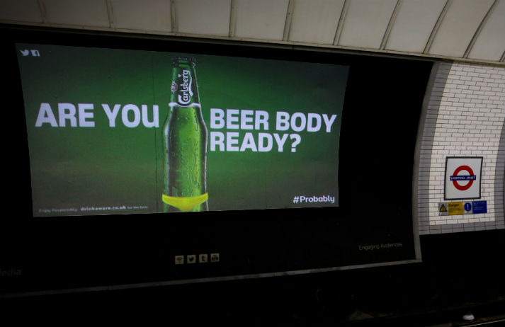 Carlsberg thinks you're beer body ready