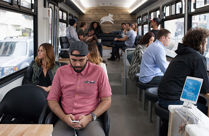 Could Leap's 'hipster buses' be the future of public transport?