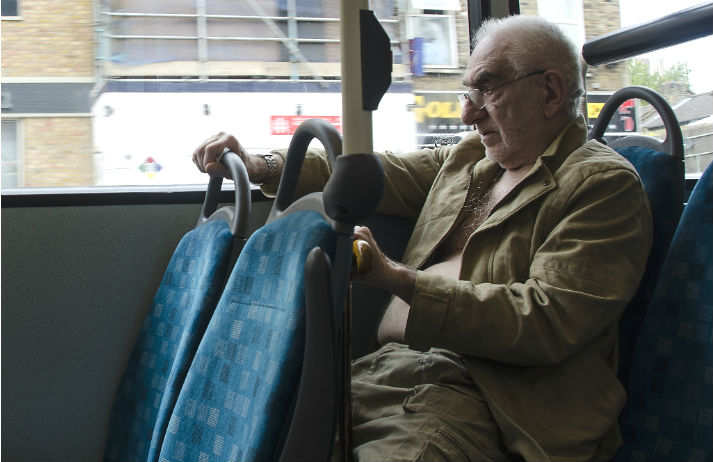 UK public transport letting down the elderly