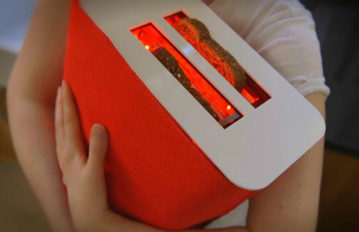 Student invents products that increase happiness