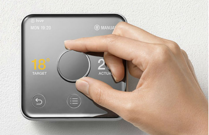 British Gas designs a subtle smart thermostat