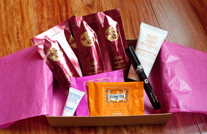 Subscription boxes work well for beauty brands