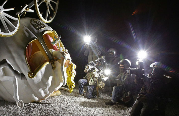 Banksy's Dismaland is a theme park for art