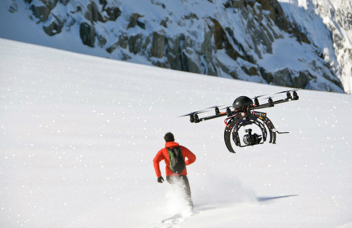 Drones set to revolutionise action sport filming