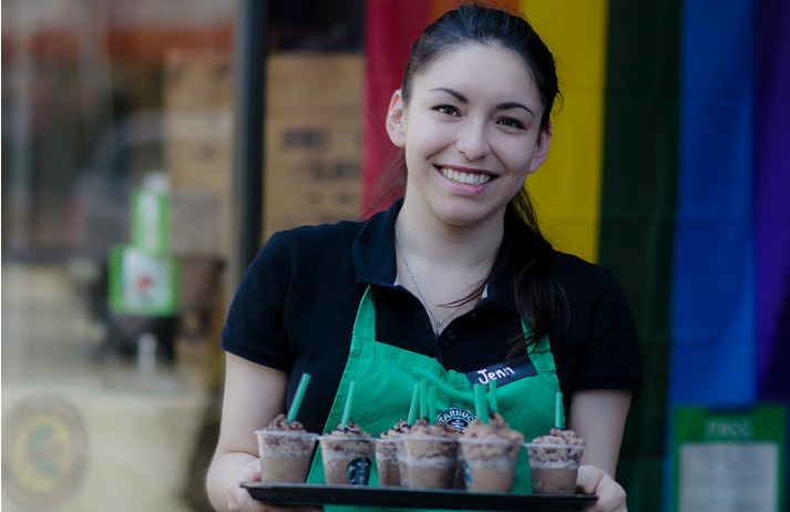 Starbucks offers financial support to staff
