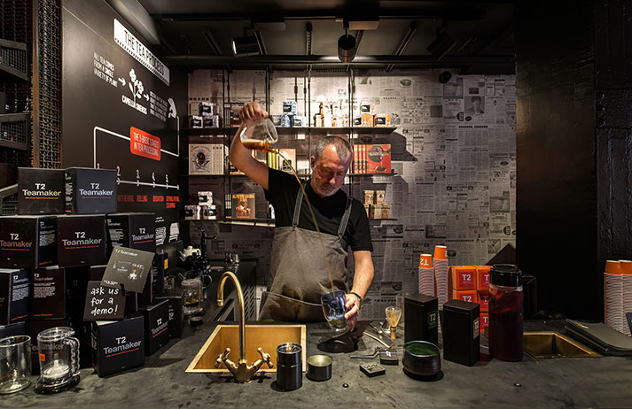 T2 serves up a theatre of tea