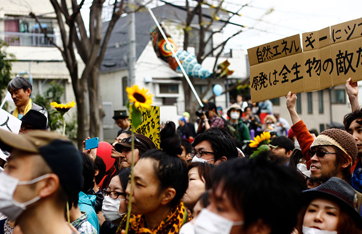 Politically charged pop is creating tension in Japan