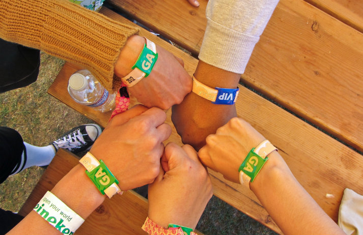 Eventbrite's wristbands could replace tickets