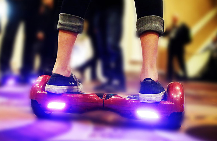The hoverboard is 'the Gen Y' Segway