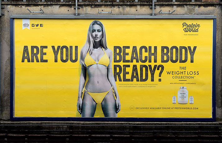 Sex (and controversy) certainly sold well for Protein World