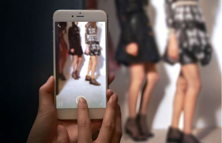 Snapchat gets behind the scenes with Burberry