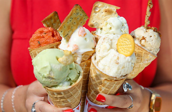 Ice cream fans get a taste for savoury flavours