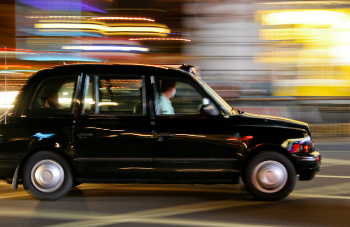 Black cabbies are accepting cashless payments