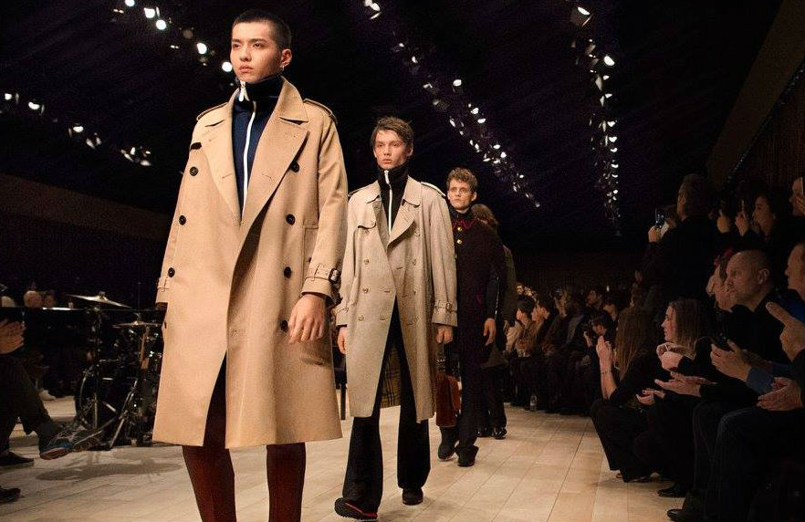 Burberry questions the way runway fashion works