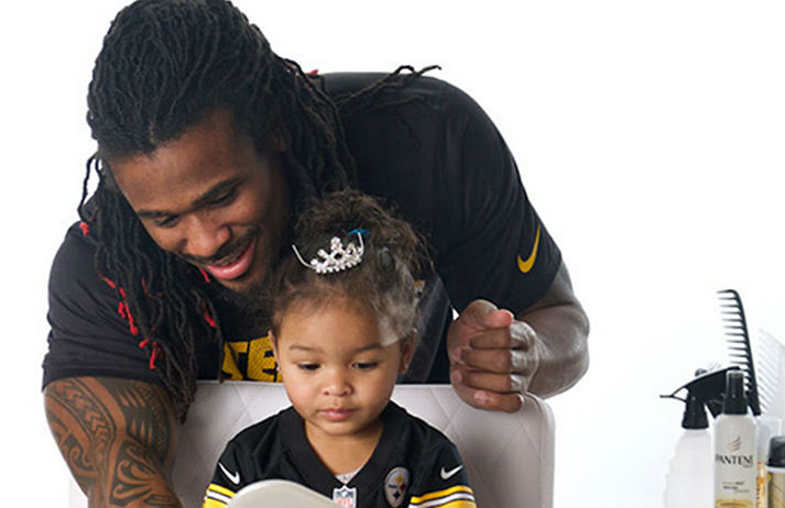 Pantene encourages dads to hang with their daughters