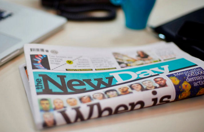 A UK newspaper has launched for the first time in 30 years