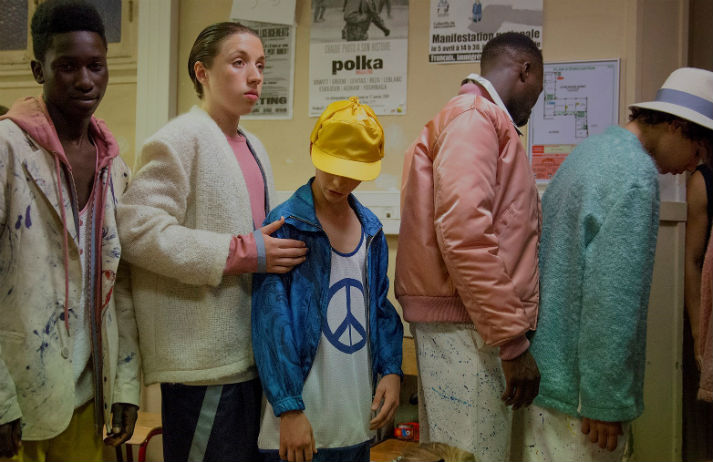 Fusing French fashion with American culture