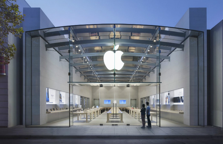 Apple puts physical at the heart of its brand