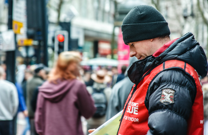 The Big Issue goes cashless