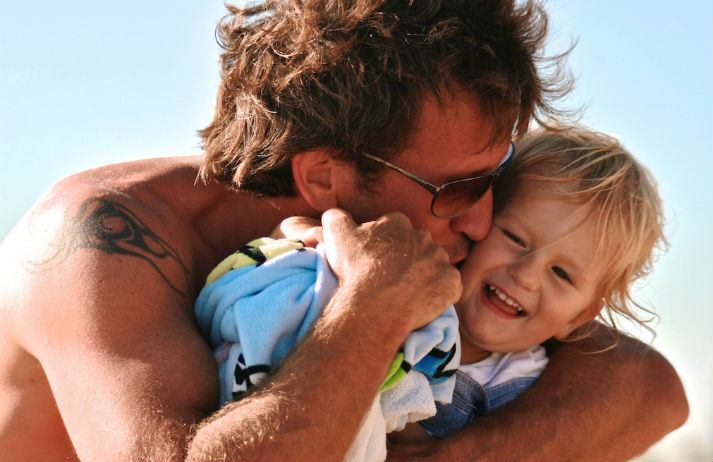 Dads have a big impact on their kids' health