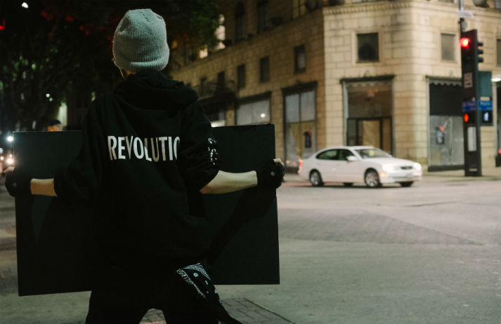 What protesters look for in a social platform
