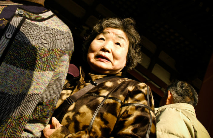 Japan's elderly are fighting dementia with make-up