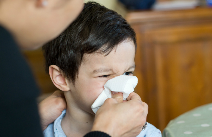 Is over-the-counter medication enough to stop the sniffles?