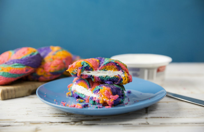 Foodies have gained an appetite for multi-coloured cuisine