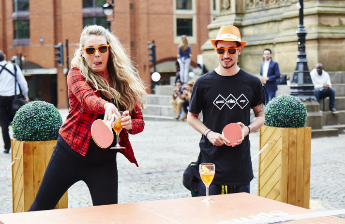Activity drinking has evolved from pub quizzes to ping pong
