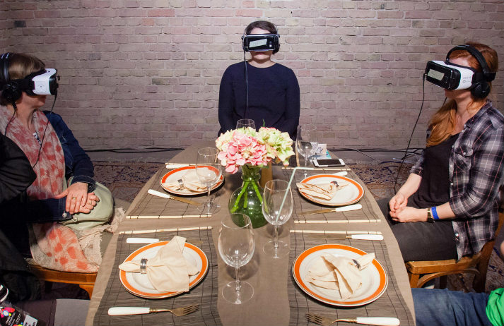 Multisensory VR could whet our appetites